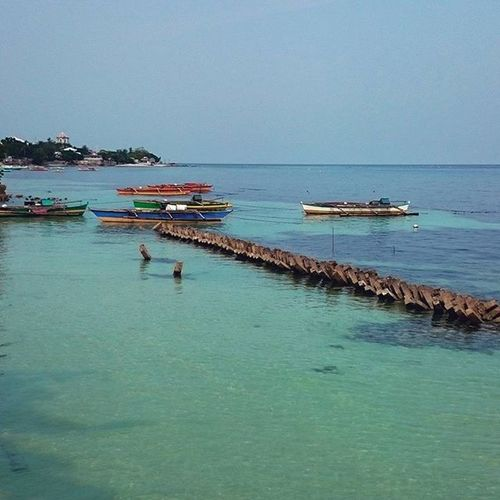 Oslob Cebu Philippines Sea Boats Blue SouthCebuHoliday Essence Of Summer Nature's Diversities Eyeem Philippines