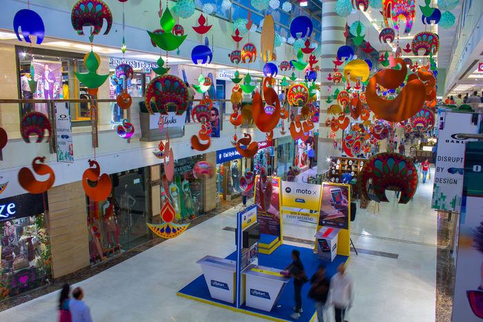 Mall Shopping Hello World ArtWork