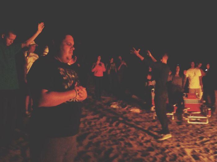 Worship Worshiping God Christianity Jesus Christ Nightphotography Beachphotography Beach Life Enjoying Life Reflection Love God Spirituality