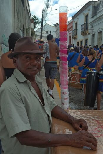 Colors Of Carnival in Olinda, Pernambuco.