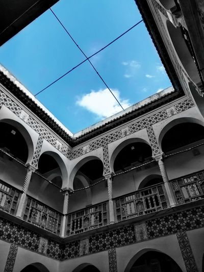Old Algerian House Ottoman Ottoman Empire Ottoman Architecture Colonialism French Turkey Türkiye Blue Sky Arch Architecture Architectural Column Tourismalgeria Algeria Algerian Blogger Alg 2018 Clouds Clouds And Sky Land Palace Bastion Bastion 23 City Place Of Worship Arch History Sky Architecture Built Structure Close-up