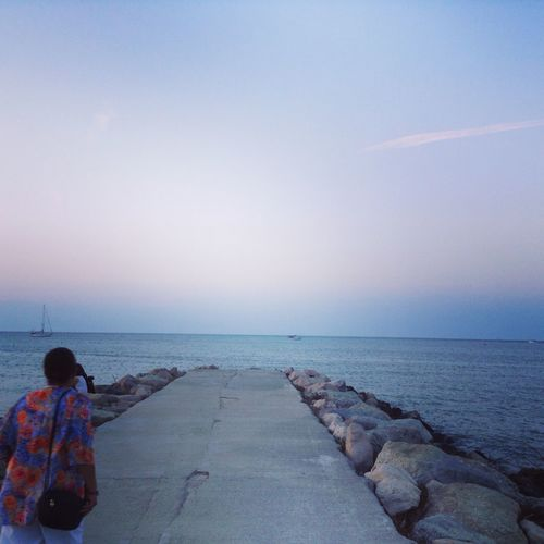 EyeEmNewHere Rimini Horizon Over Water Beauty In Nature Sea Neverendinglovestory