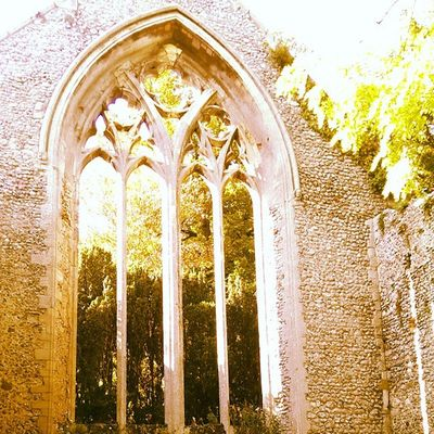 Walshingham Walshinghamgrounds Walshinghamabbey Grounds green arch ruins footpath HTC htc1 dayout