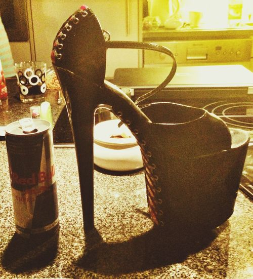 Really Hiiiigh :)) Fashion & Sado Ou Maso with RedBull