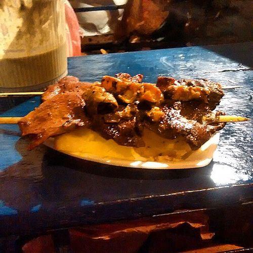 Una buena cena TiaVeneno Rules Anticuchos Peru Dinner Night PhotoOfTheDay