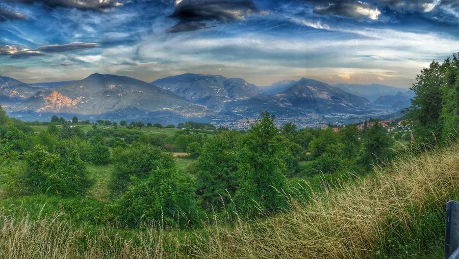 Panoramic IPhoneography Montagne Trentino