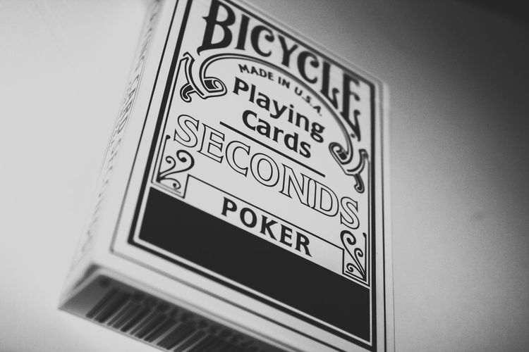 Cards Interesting Awesome Stickers Branding Brand Cardistry  Magic Bycicle Bycicle Cards Card Games Wizardry Text Day Indoors  No People Close-up