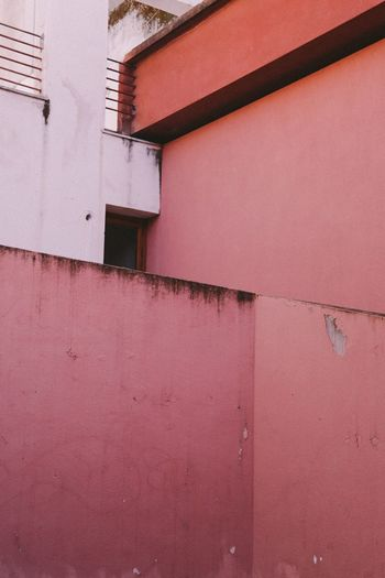 The Architect - 2017 EyeEm Awards Built Structure Architecture Building Exterior No People Outdoors Day Pink Color Pink Wall Sicily Sicilia Cefalu  Shabby Paint Shabby