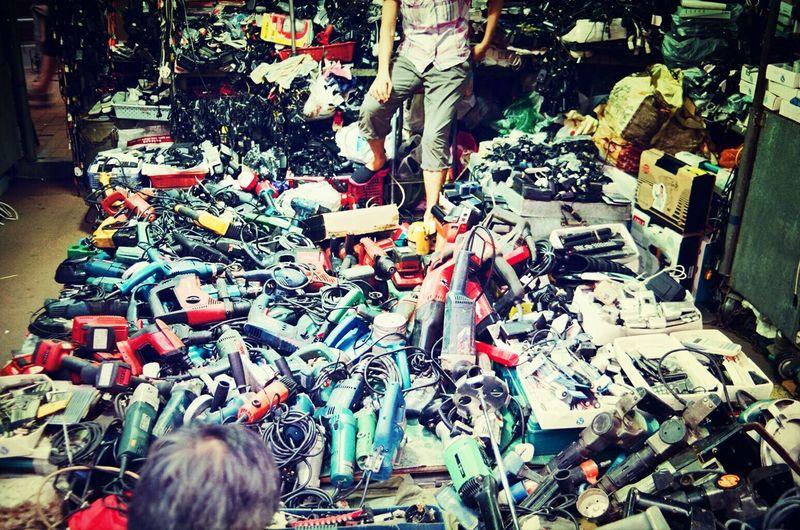 Streetphotography Hilti Hong Kong