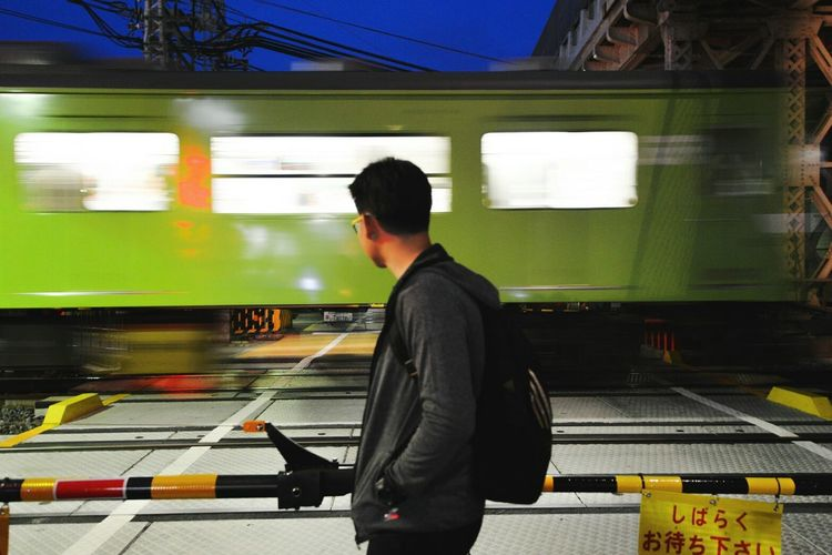 ~See the train of life~🎌🚂 First Eyeem Photo