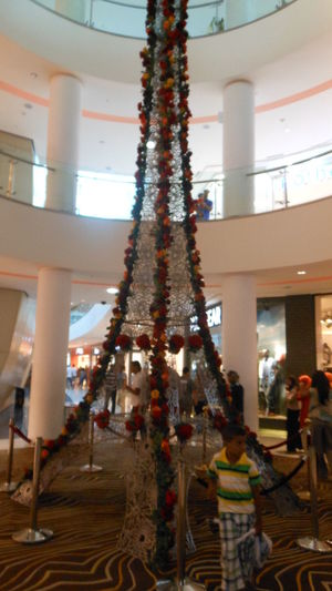 morocco mall Built Structure Casablanca Christmas Day Large Group Of People Lifestyles Marocco Morocco Mall