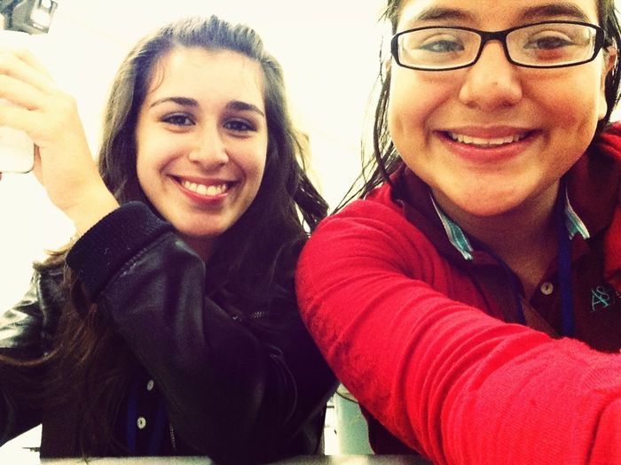 In Lunch With This Girl ^.^