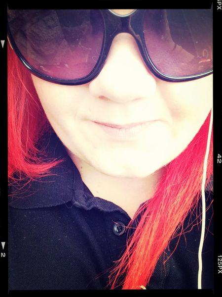 Sunglasses Red Hair :) First Eyeem Photo