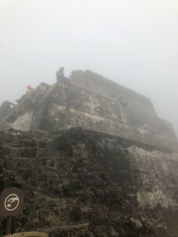 Mal clima pero excelente Sky Mountain Nature Fog No People Architecture Built Structure