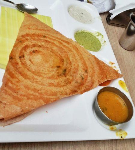 My World Of Food Dosa Dosai Sambar Meal South Indian Food