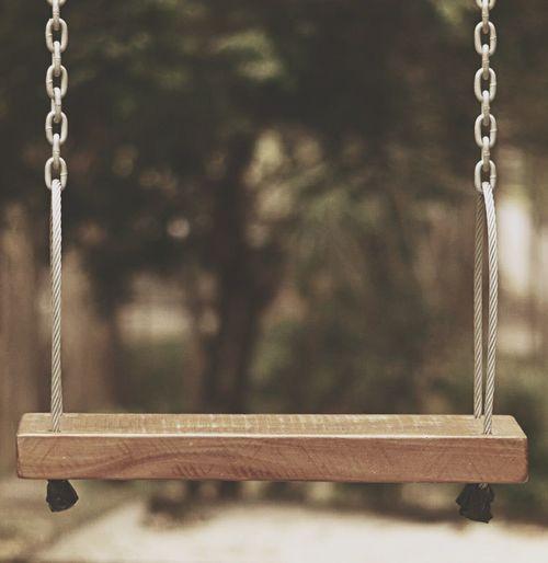 Swing Playground Hanging Outdoor Play Equipment No People Parquinho Balanço Criança Kid