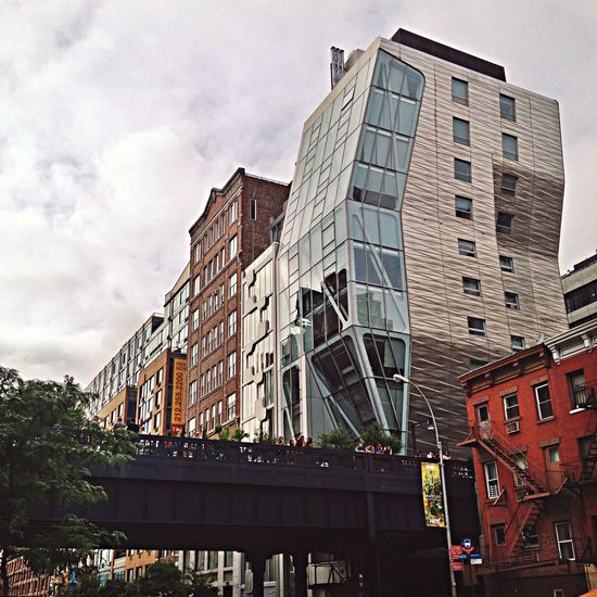 Arquitecture High Line Park Street Photography NYC