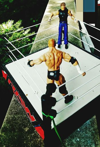 WWE a little outside entertainment for a Sunday activity. Wrestlingmatch Wrestlingfigurephotography Wrestlingfigures Wrestling Arena EyeEm Selects EyeEmNewHere Sort Of The Wrestling Arena Competitive Sport Full Length Sport Competition Men Body Building Weight Training  Slam Dunk Sportsman Bicep Human Muscle Muscular Build Abdominal Muscle Weightlifting Push-ups #urbanana: The Urban Playground Be Brave My Best Travel Photo