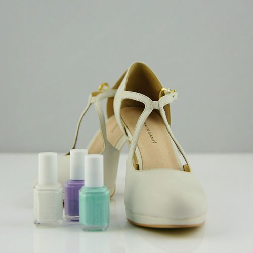 Exploring Style No People Fashion Indoors  White Background Choice Fragility Shoes ShoePorn Essie Essiepolish Essie