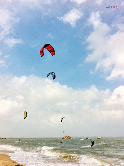 Xiamen IPhoneography Iphonephotography Taking Photos Sport Kite Surfing Relaxing