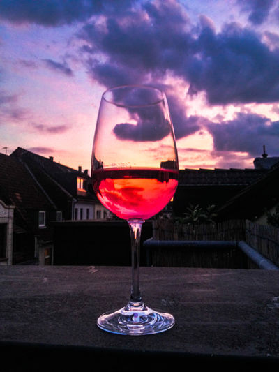 Köln Kölner Dom Alcohol Architecture Building Exterior Cloud - Sky Drink Drinking Glass Food And Drink Freshness Germany Glass Glass - Material Nature No People Outdoors Red Wine Refreshment Sky Still Life Sunset Table Transparent Wine Wineglass Capture Tomorrow