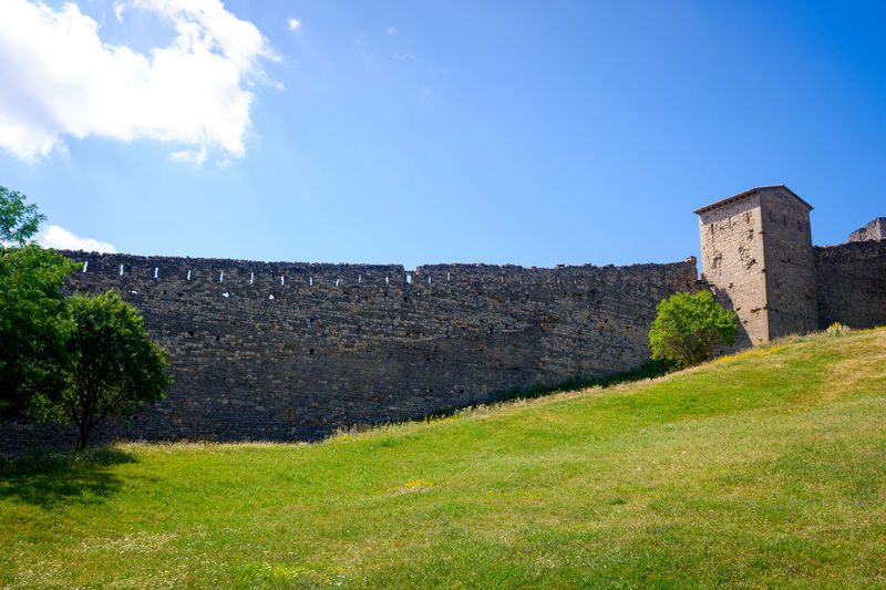 View of fort against the sky