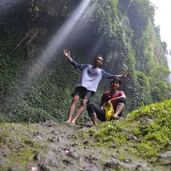 Lepas penat bersama SW rider Latepost Vacation Waterfall Madakaripura Explore Exploreprobolinggo Explorejawatimur Exploreindonesia Indonesiaku