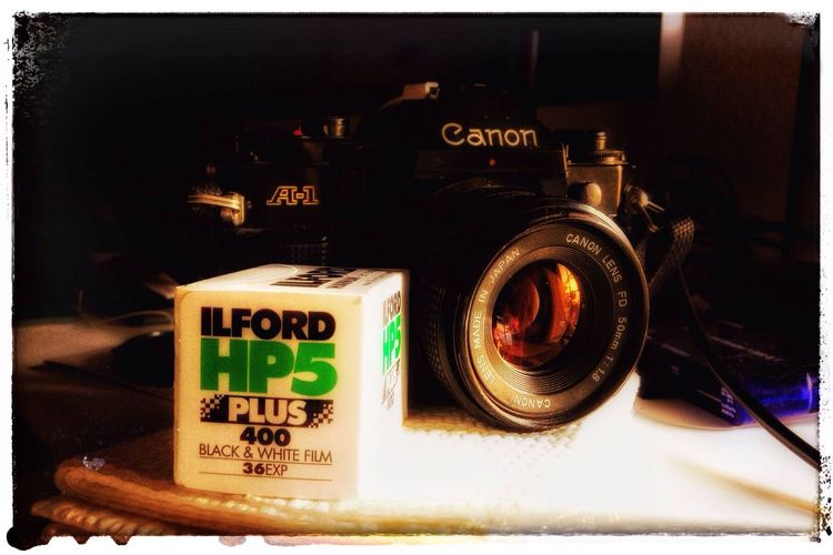 Canon A-1 Old