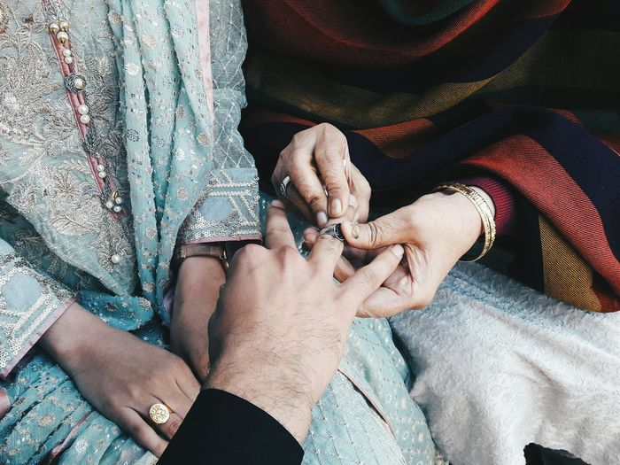 Engagement cermony. Togetherness Two People Love Marriage  Close-up Mobile Photography VSCO Culture Colors People Engagement Open Edit Street Photography Getting Inspired Friendship