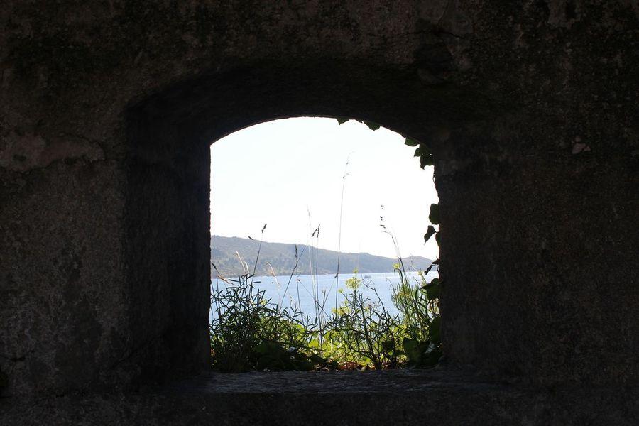 Castillo de San Felipe Galicia SPAIN Window Taking Photos Beautiful Nature Paisaje Landscape Muxía Protecting Where We Play