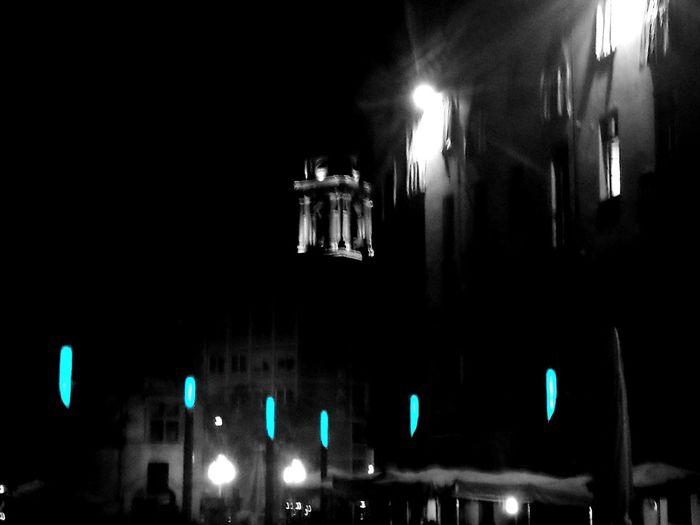 Illuminated No People Turin
