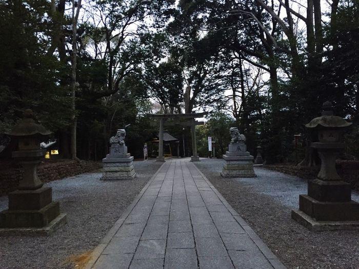 寄ってみました。 谷保天満宮 Shrine