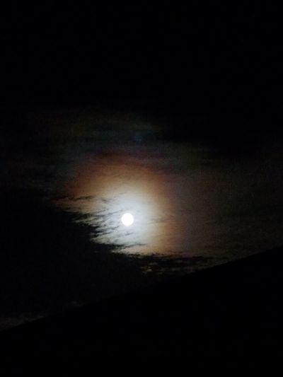 Night Sky Moon Clouds And Sky Moonlight Tranquil Scene Fullmoon And Clouds
