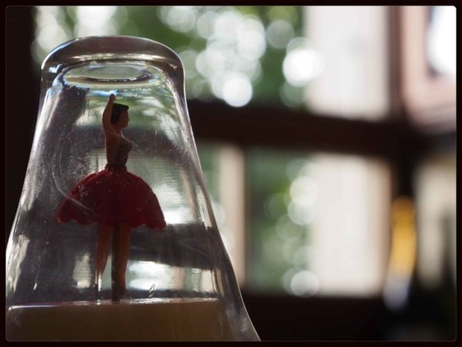 la ballerina... Miniature Dance A Little Bokeh The Purist (no Edit, No Filter)