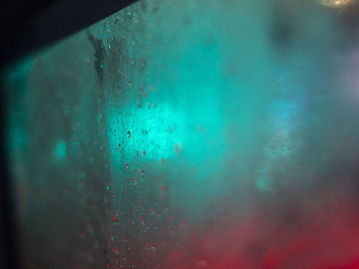 No People Indoors  Water Glass - Material Transparent Wet Window Close-up Condensation Nature Focus On Foreground Drop Day Turquoise Colored Glass UnderSea Textured  Underwater RainDrop