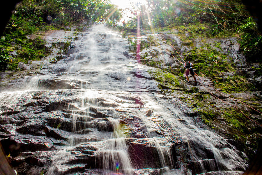 Ecoturismo Meleiro, Brazil Rapel Turismo De Aventura Beauty In Nature Day Ecoturism Forest Freshness Motion Nature No People Outdoors River Rock - Object Scenics Tree Water Waterfall