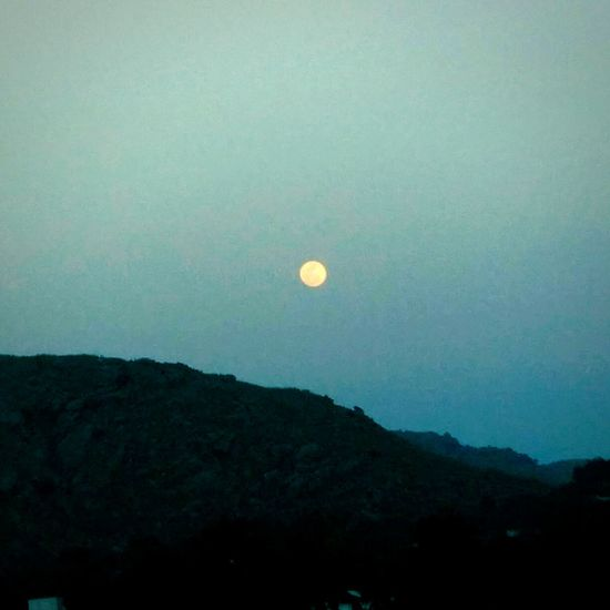 Moon Full Moon Beauty In Nature Nature Scenics Astronomy Night Landscape Sky No People Outdoors
