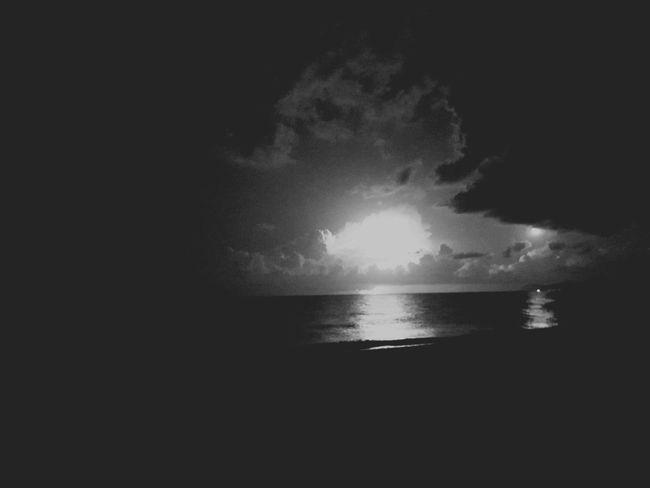Monochrome Photography Crete Chania Mediterranean Sea Greece Stormy Weather Lightinthedark