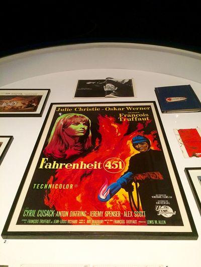 Truffaut: um cineasta apaixonado Truffault Film Classicmovie Fahrenheit 451 Exposition Exposição ExposicaotruffaultMis