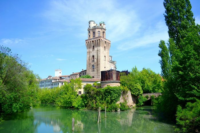 La Specola Specola Padova Padua Italia Italy Veneto River City Nature Urban Nature Colors Spring Tower Observatory Sky Primavera Fiume Natura Osservatorio Torre Panorama Landscape Hidden Gems  Colour Of Life My Year My View Miles Away The Secret Spaces Your Ticket To Europe