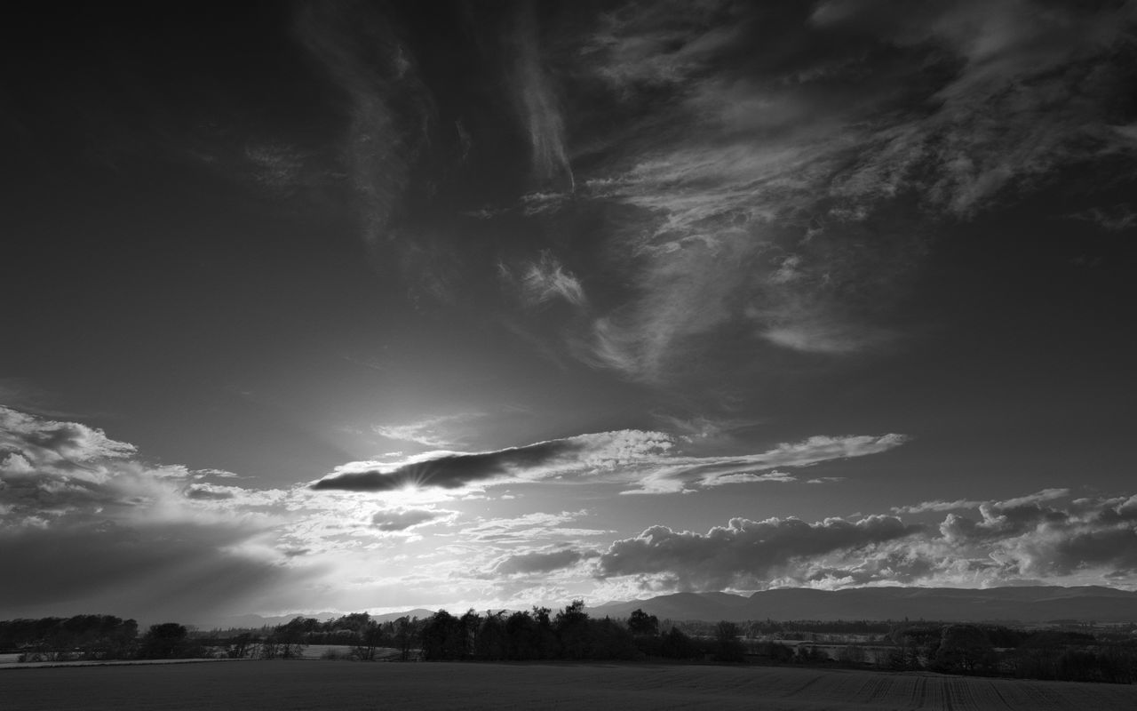 sky, nature, scenics, beauty in nature, tranquility, tranquil scene, cloud - sky, landscape, no people, outdoors, tree, day