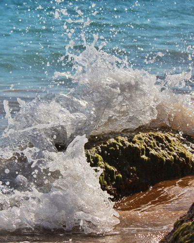Water Sea No People Nature Outdoors Day Beauty In Nature Close-up Wave Sky The Great Outdoors - 2017 EyeEm Awards Travel Destinations Tranquility Vacations Freshness Beach Sunset Place Of Heart Water Reflections Scenics Capture Motion Perspectives On Nature