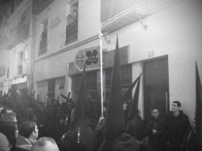 Blackandwhite Semana Santa Enjoy The Silence Semana Santa Sevilla 2013