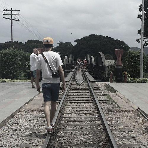 C R O O K E D Death railway Kanchanaburi