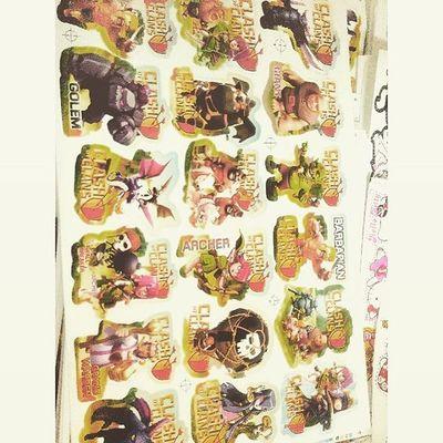 Clash of clans sticker... For sale... want it? Add line : @indahlitatobing Sticker Clashofclans Clashofclansindonesia Clashofclansaddict CoC Cocfans Jualsticker Jualstickercoc Jualstickermurah Murah