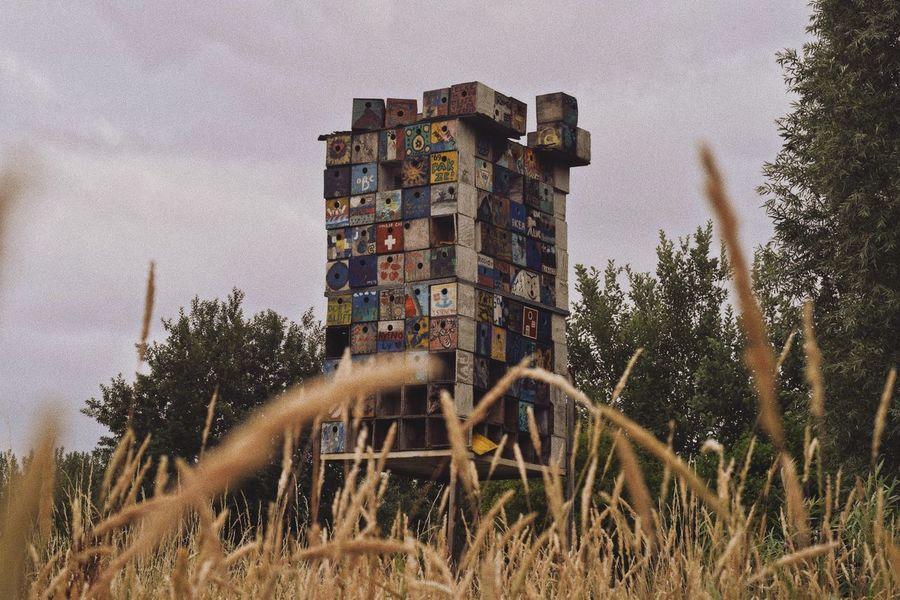 A photo made in Doel, Belgium. Belgium Doel Belgium