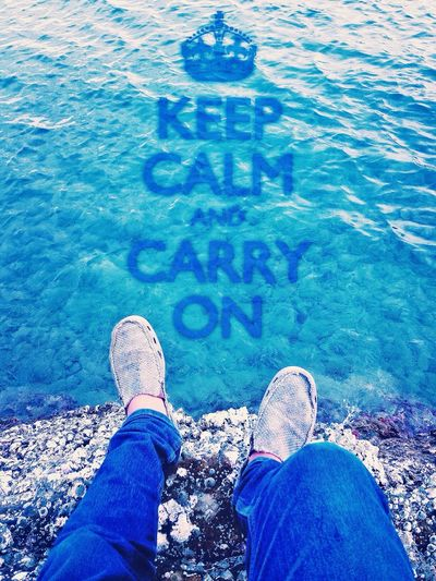 Keep Calm And Carry On ?