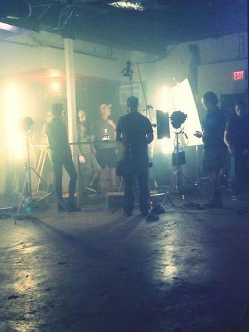 On set for Grand Marnier commercial in Austin this past Monday. Was a blast. Acting On Set Hustling Money Hungry