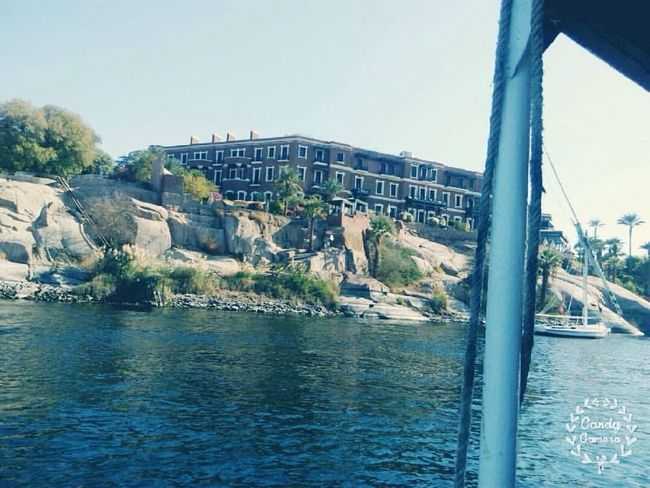 Aswan Egypt Aswan Grand Hotel Nile River Egypt Old Hotel