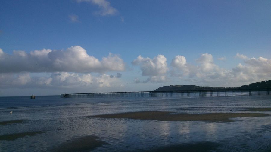 Ramsey Pier this afternoon - Isle of Man Landscape_Collection Sea_collection Sky_collection Eye4photography